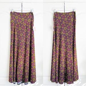 LuLaRoe Geometric Maxi Skirt
